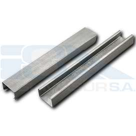 Perfil C Galvanizado 100x45x15x2 mm x 12 mt Ternium Siderar