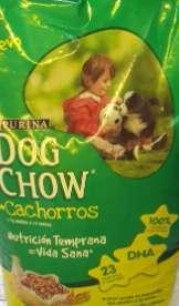 Dog Chow cachorros razas medias y grandes 22.7 kilos