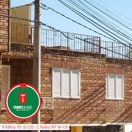 Amplio departamento 2 dormitorios - Pleno centro de Río Ceballos