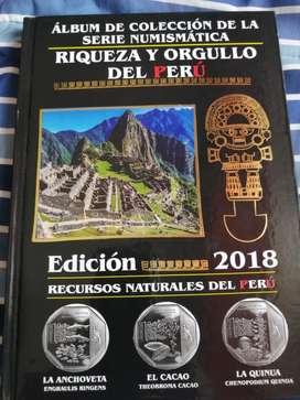 Álbum de Colección Numismatica