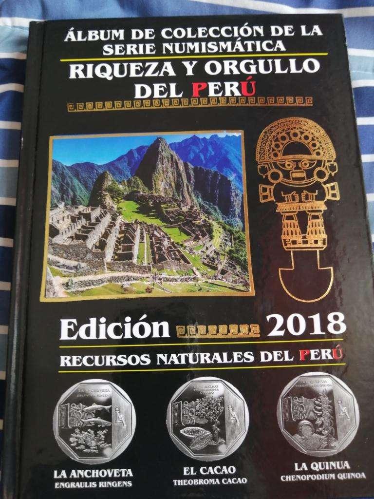 Álbum de Colección Numismatica 0