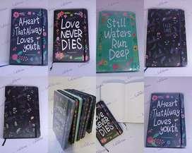 Cuaderno Libreta Tapa Dura bordes hojas color