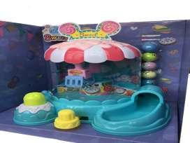 Juego atrapa caza peluche muñeco pelotas musical juguete niñas navidad