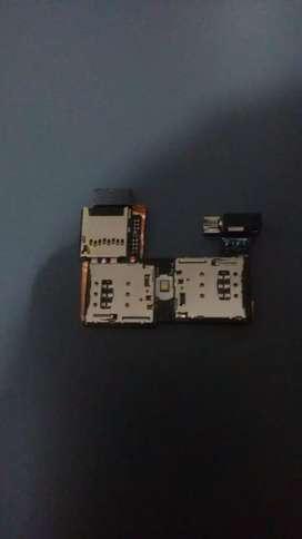 Flex de SIM Card para Motorola g2