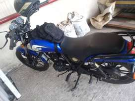 moto azul ICS
