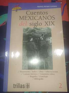 Libro Cuentos Mexicanos Del Siglo XIX (Usado)