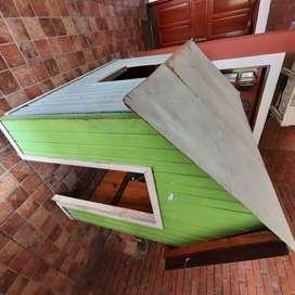 Vendo casita de madera
