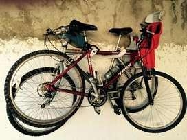 Soporte 2 Bici Bicicletas Colgar Cuadro
