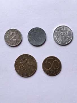 Austria monedas