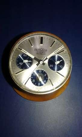 "Cronometro ""VALJOUX 72"" cuadrante."