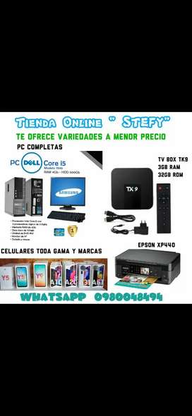 Laptos , pc , TV box,  Celulares,  impresoras y mas