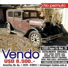 EXXES SUPER SIX Mod. 1929 - TODO TOTALMENTE ORIGINAL