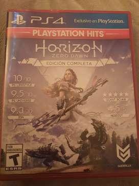 Vendo Horizon para Ps4 Edición Completa