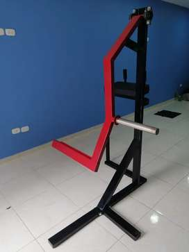 Se fabrican maquinas para gimnasio