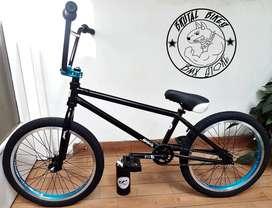 Bicicleta BMX Freestyle Montana Arctic. Repuestos Optimus