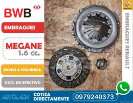 KIT EMBRAGUE MEGANE 1600 cc