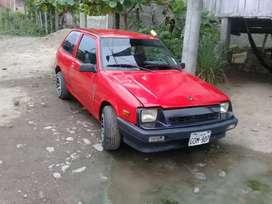 Un carro Suzuki