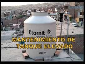 gasfitero -limpieza y desinfeccion tanques garantizado