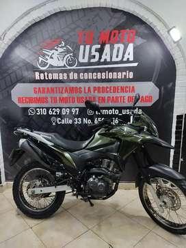 HONDA XRE190 ABS MODELO 2017.  EXCELENTE ESTADO. único dueño ( XRE 190 XTZ XR ENDURO TT TTR )