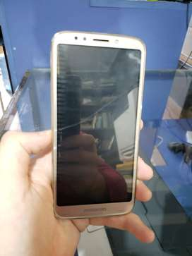 Motorola Moto E5 Play - Negro Liberado 16gb Usado