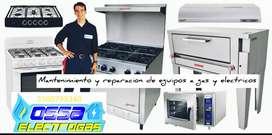 Tecnico estufas, calentadores, freidoras, hornos combi, villavicencio