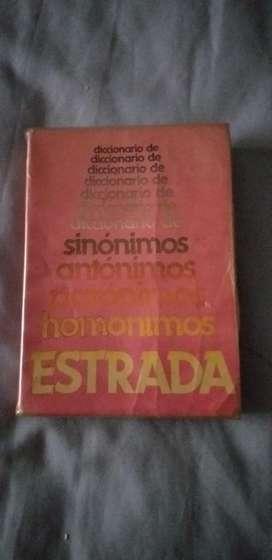 Diccionario Sinonimos, Anton. Y Homonim