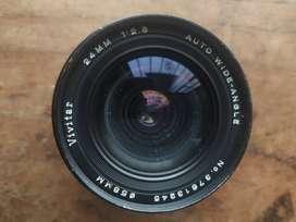 LENTE M42 DE 24 MM 2.8 PARA CANON