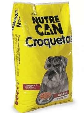 Nutre Can Croquetas Adulto Bulto X 25 Kg
