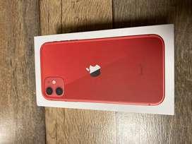Vendo Iphone 11 red 64gb
