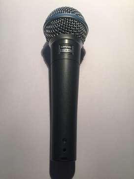 Microfono Shure Beta 58A Nuevo