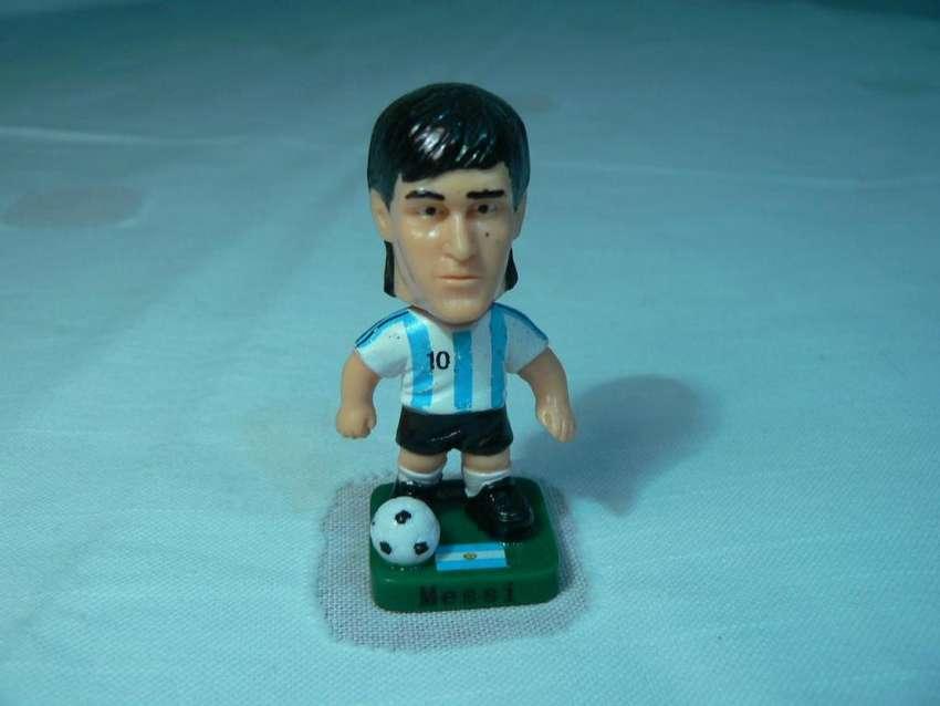 Muñeco Cabezón de Lionel Messi de la Colección Energizer Mundial Sudáfrica 2010 0