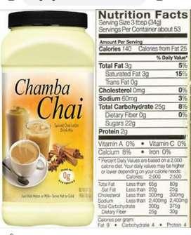 Chamba Chai late 1,81 kg
