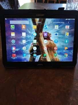 Viendo tablet Samsung 10' Galaxy tap 4