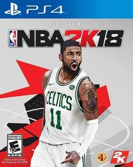 juego ps4 NBA 2k18 (usado)