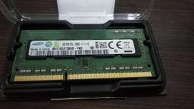 Memoria Ram 4gb Samsung Ddr3 So-dimm 204pin Pc3l-12800s 1600 para notebook