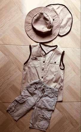 Venta de traje de  safari