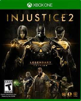 Injustice 2 Legendary Edition Xbox One, Físico