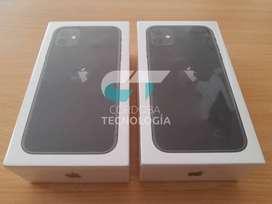 Apple iPhone 11 64Gb Black Caja Sellada STOCK CórdobaTecnología Oficina Comercial!