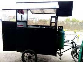 Vendo carrito para comidas rapidas