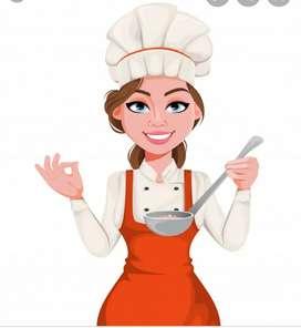 Se requiere  señora  para cocina