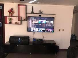 Modular Mueble Juego de entretenimiento repisa TV Base TV Sala Comedor