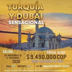 Viajes city tours Turquía Dubai