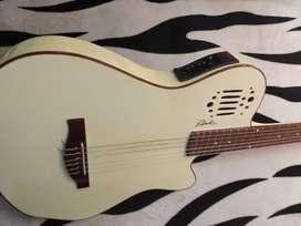 grande guitarra electro acustica tipo godin