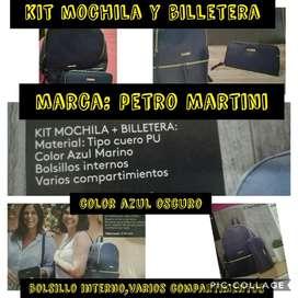 Mochila Mas Billetera