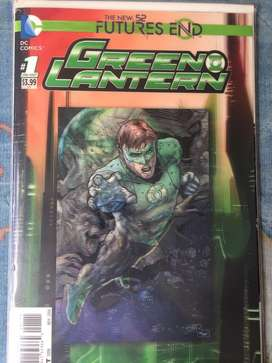 DC New 52 futures end Green Lantern en ingles