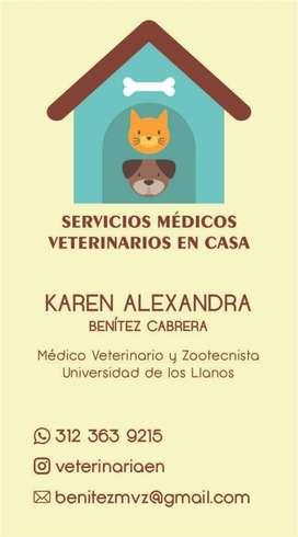 Servicio Veterinario a Domicilio