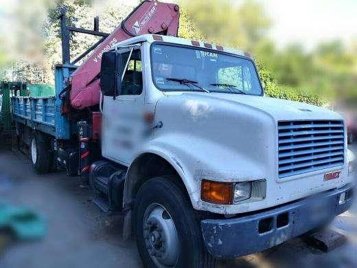 Camion Dimex con hidrogrua Amco Veba, excelente estado 0