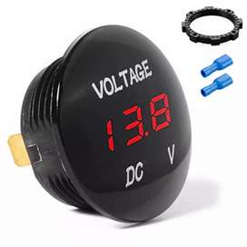 Mini Voltímetro Digital resistente al agua moto - carro