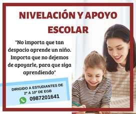 CLASES DE NIVELACIÓN Y REFUERZO ACADÉMICO