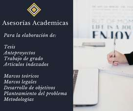 Asesorías Academicas y Metodologícas